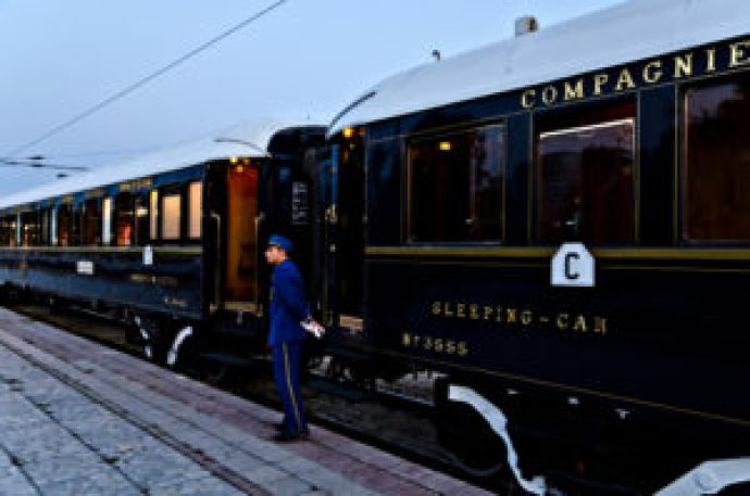 Orient Express train