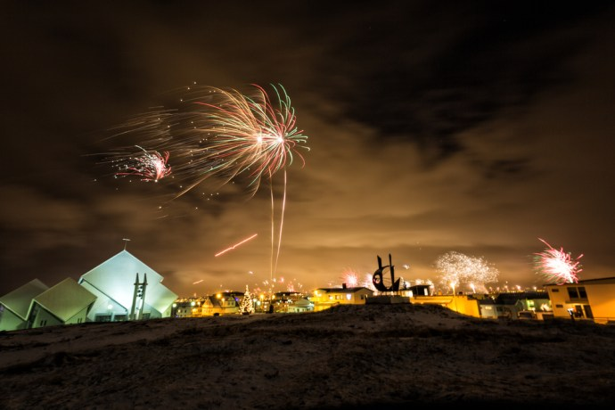 Iceland New Year's Eve