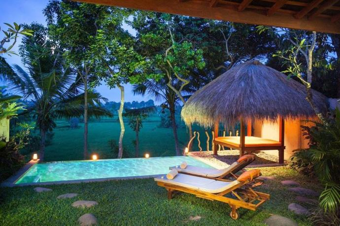Best places to stay in bali with a private pool under 150 for Bali indonesia places to stay