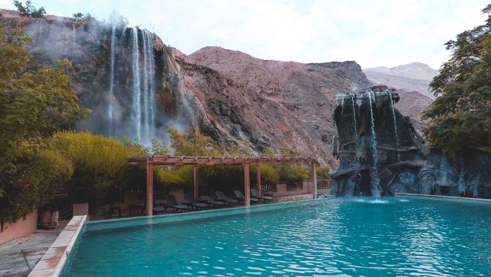 ma'in thermal hot springs