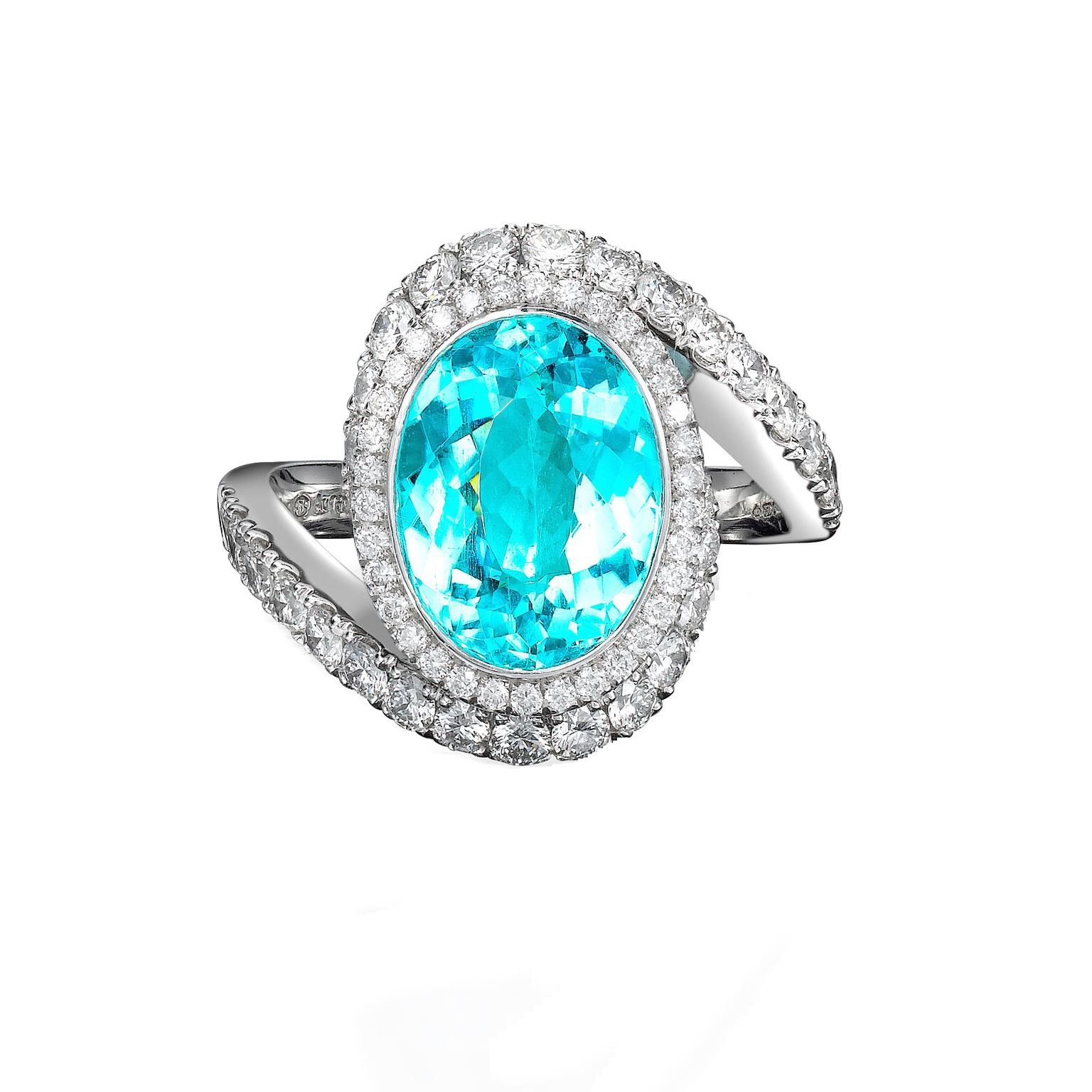 Paraiba Tourmaline Ring George Pragnell The Jewellery
