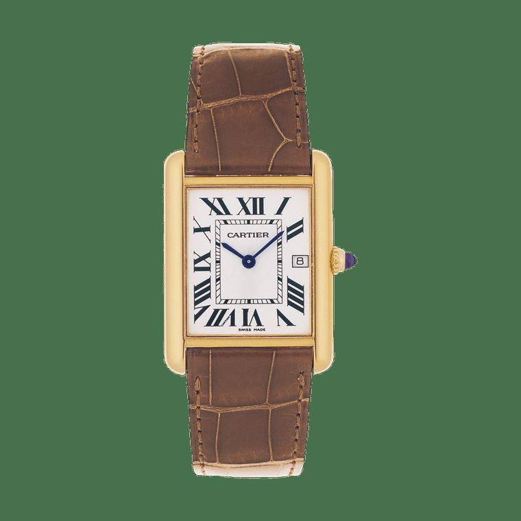 Louis Cartier Tank Watch In Yellow Gold Cartier The