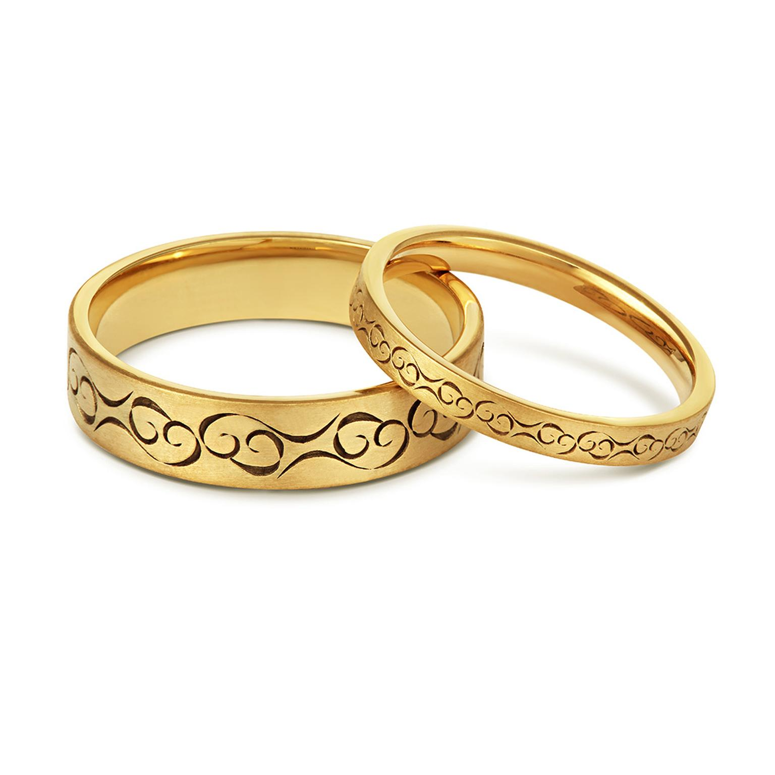 The perfect wedding bands for samesex couples  The
