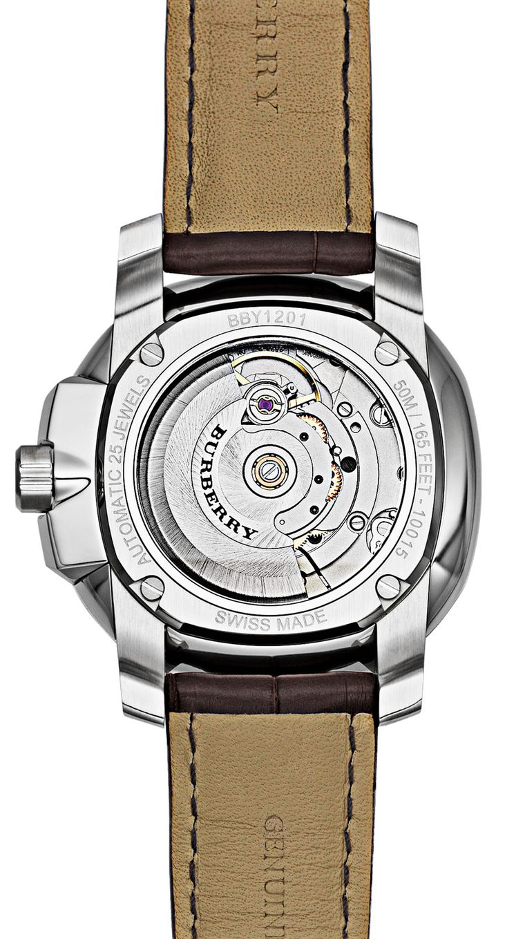 The bold Burberry Britain watch