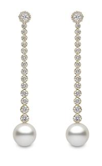 YOKO London Australian South Sea pearl earrings, as worn by