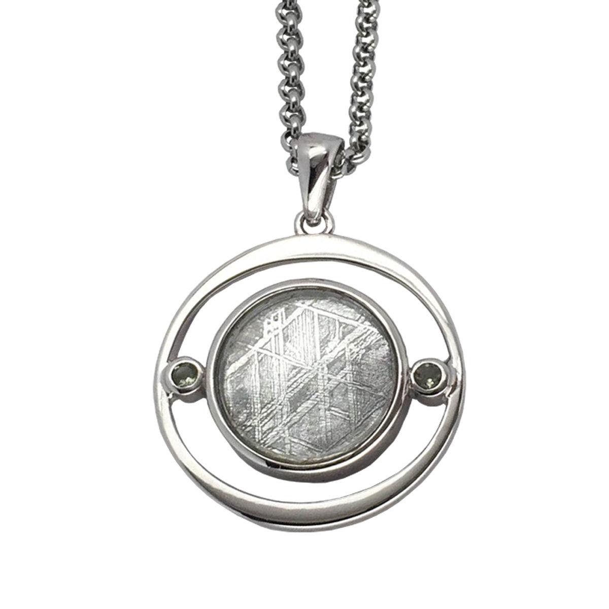 Meteorite Pendant Made In Sterling Silver