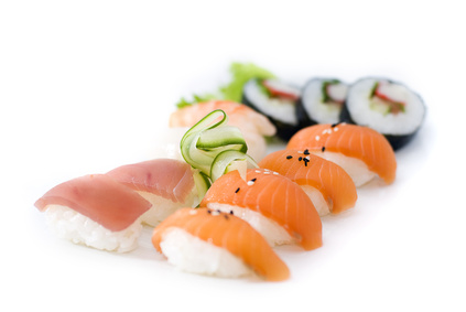 Another good reason to eat Sushi!