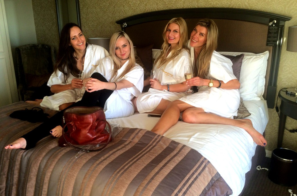 Next-Level Sleepover at the Cullinan Hotel With My Girls
