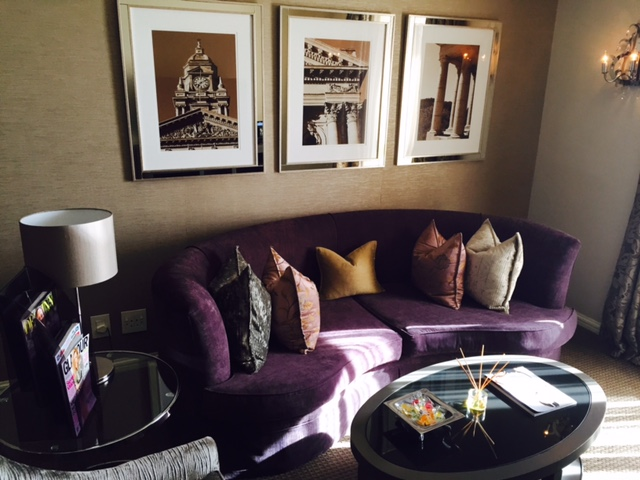 Lounge in my suite, gorgeous #decor and ultimate #luxury