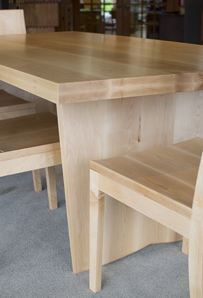 maple kitchen table granite countertops cost custom dining the joinery