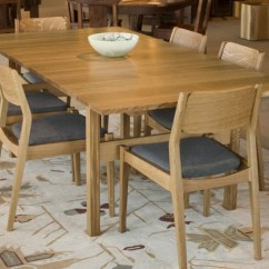 Oak And White Dining Chairs Mayfair Set In Quarter The Joinery Celilo Table Whitman Chair Quartered