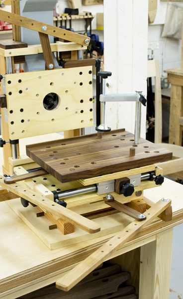 Home Made MultiRouter  The Joinery