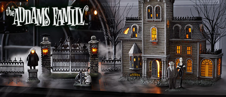 Addams Decorations Family House