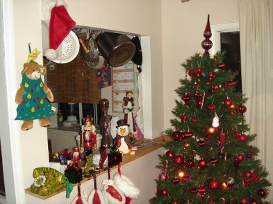 christmas clutter photo