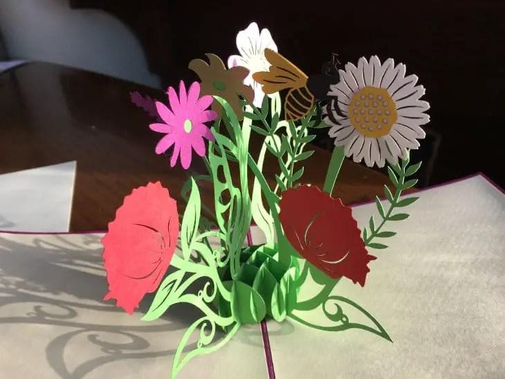 Flower Card Inside