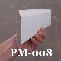 baseboard trim molding mdf pre-primed