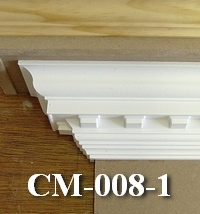 foam dentil crown molding