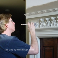 Painting Moldings