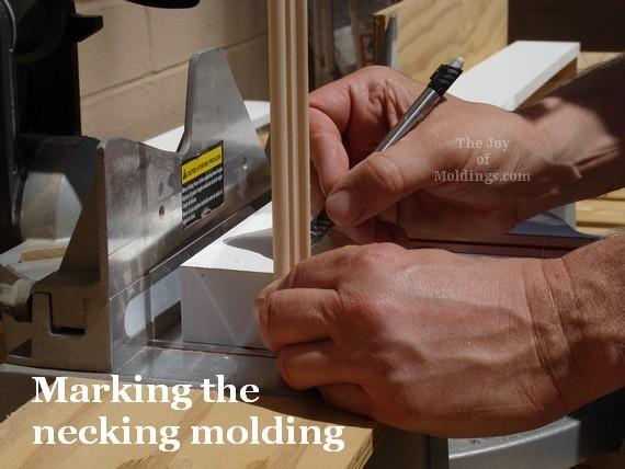 diy valance box molding installation