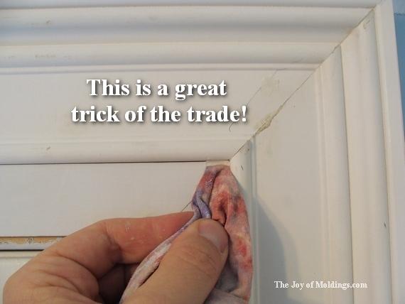 paint moldings tips