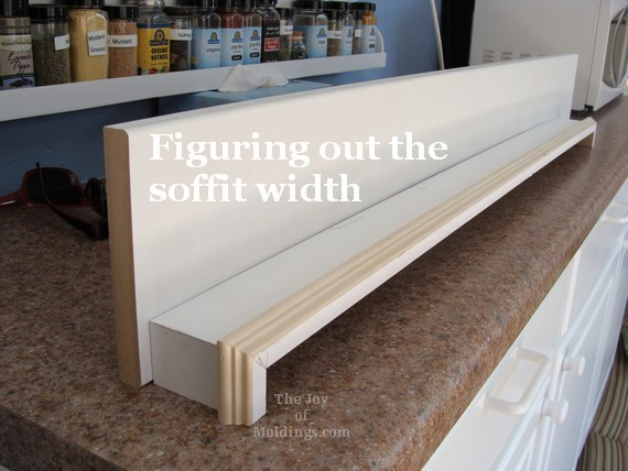 diy molding window valance box made of mdf