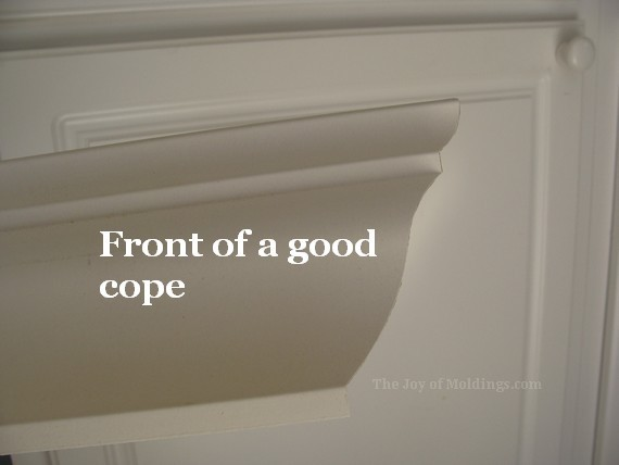 diy kitchen crown molding buildup around air vent
