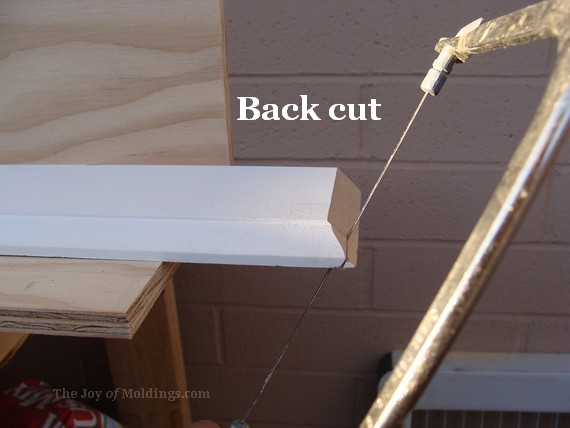 coping crown molding for brick wall installation