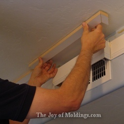 easy crown molding installation