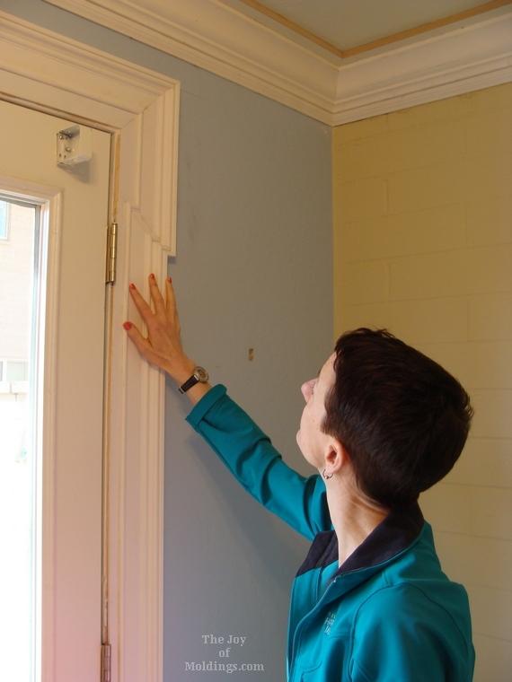 greek revival door trim eared, lugged, shouldered architrave