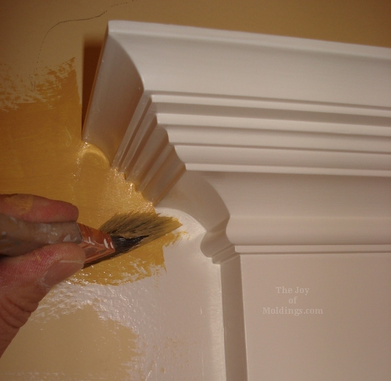 latex paint extender for wall paint around moldings cutting in