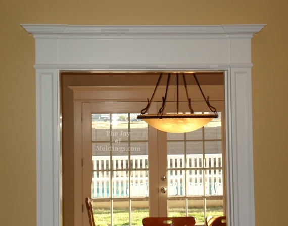 Before After Victorian Farmhouse Door Trim The Joy Of Moldings