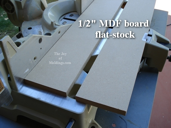 mdf board for home made plinth blocks