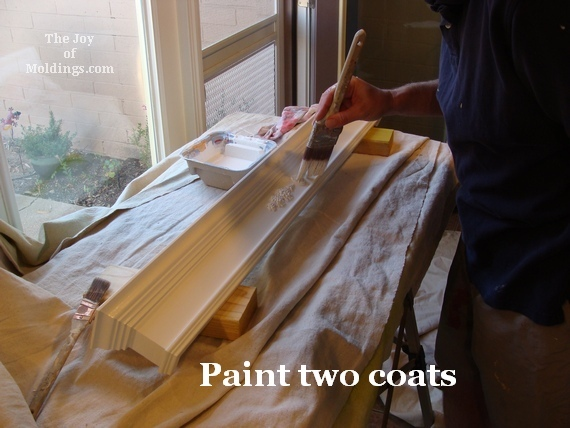 Benjamin Moore paint for moldings