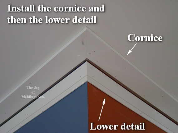 diy mdf crown molding how to