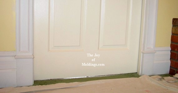 plinth blocks victorian door trim molding