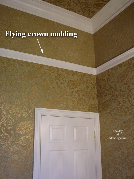 bathroom wallpaper on ceiling