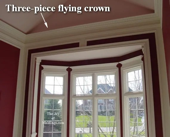 How To Install Crown Molding On Vaulted Or Cathedral Ceilings The Joy Of Moldings