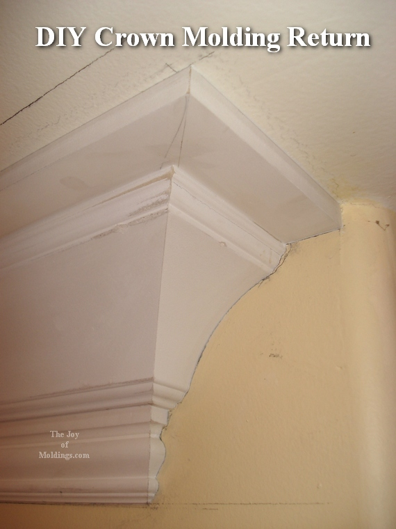 how to cut crown molding corners