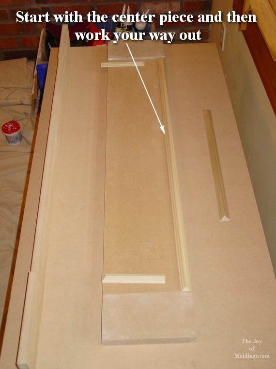 diy architrave molding installation