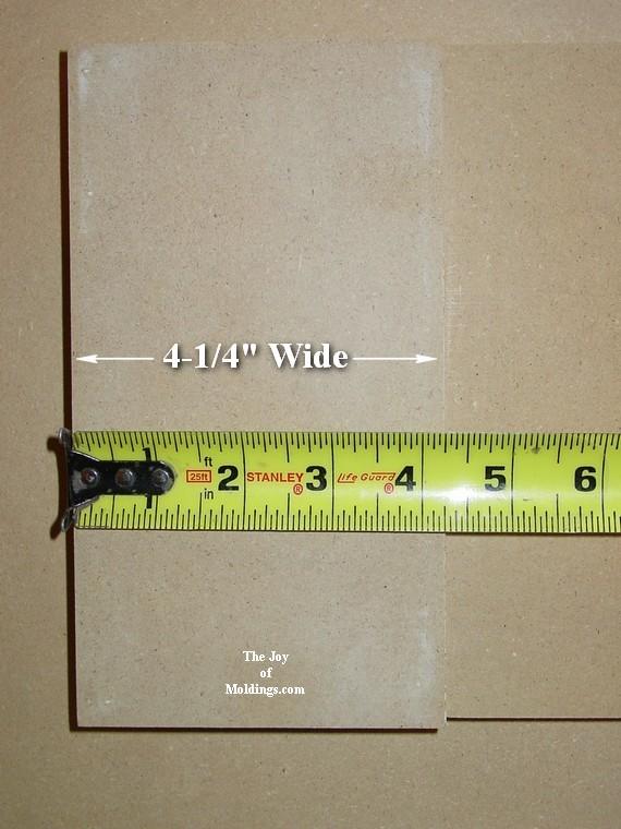 easy to make door trim header