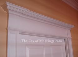 how to build a mdf victorian door header entablature