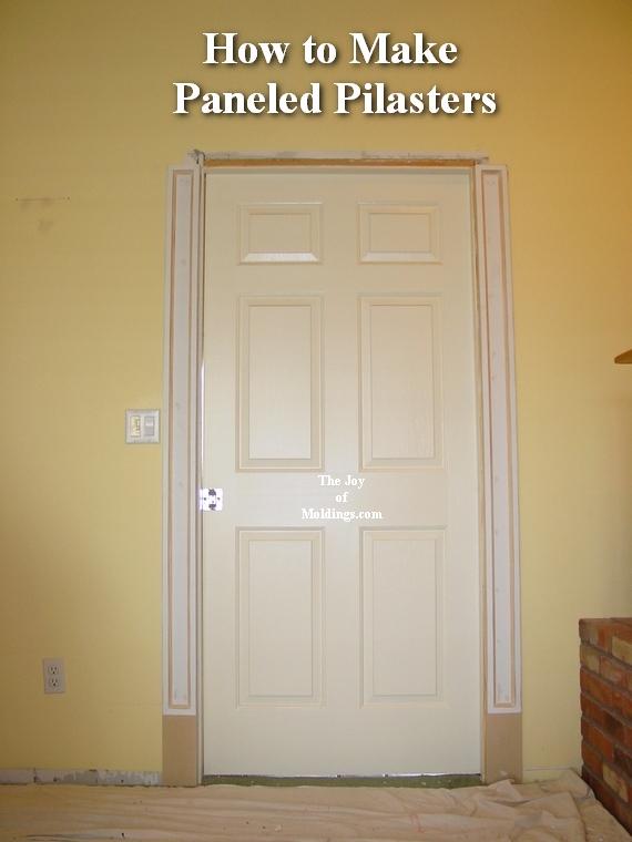 how to install door trim molding