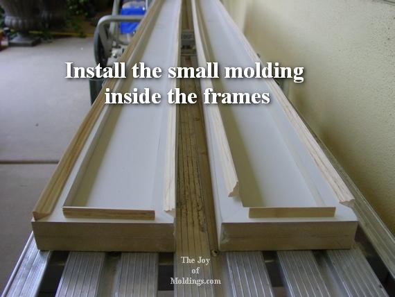 how to install easy door trim molding