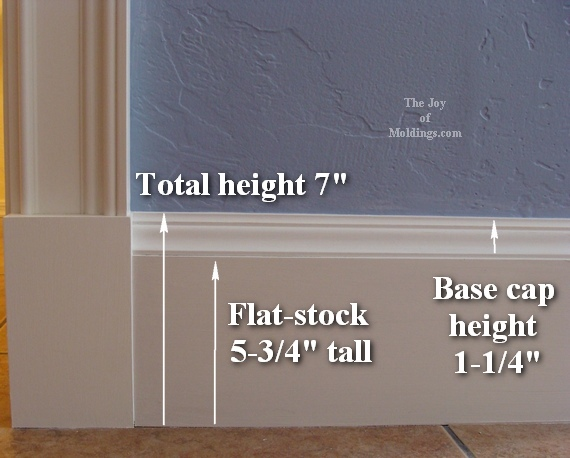 installing kitchen countertop island table for small how to install baseboard-110 $2.00/ft - the joy of ...
