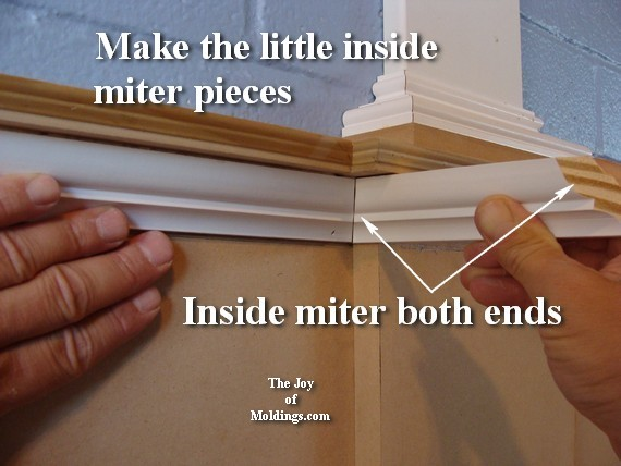 how to install interior home moldings