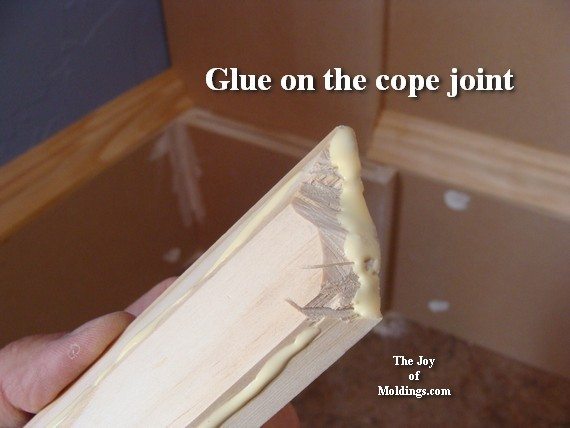 baseboard cope joint