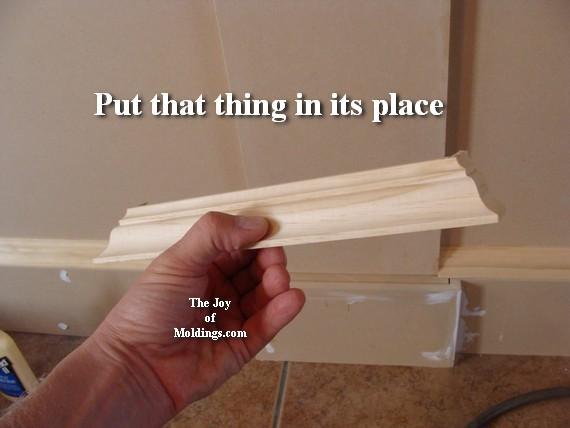 large baseboard cap molding