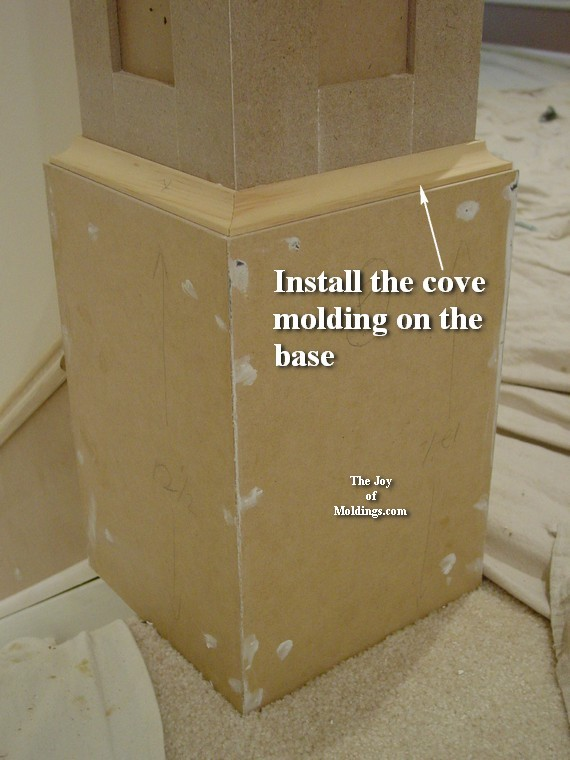 How To Build Newel Post 100 Part 2 The Joy Of Moldings
