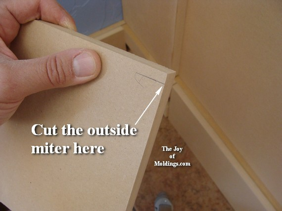 easy to install large baseboard