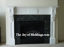 how to build a diy mdf fireplace mantel